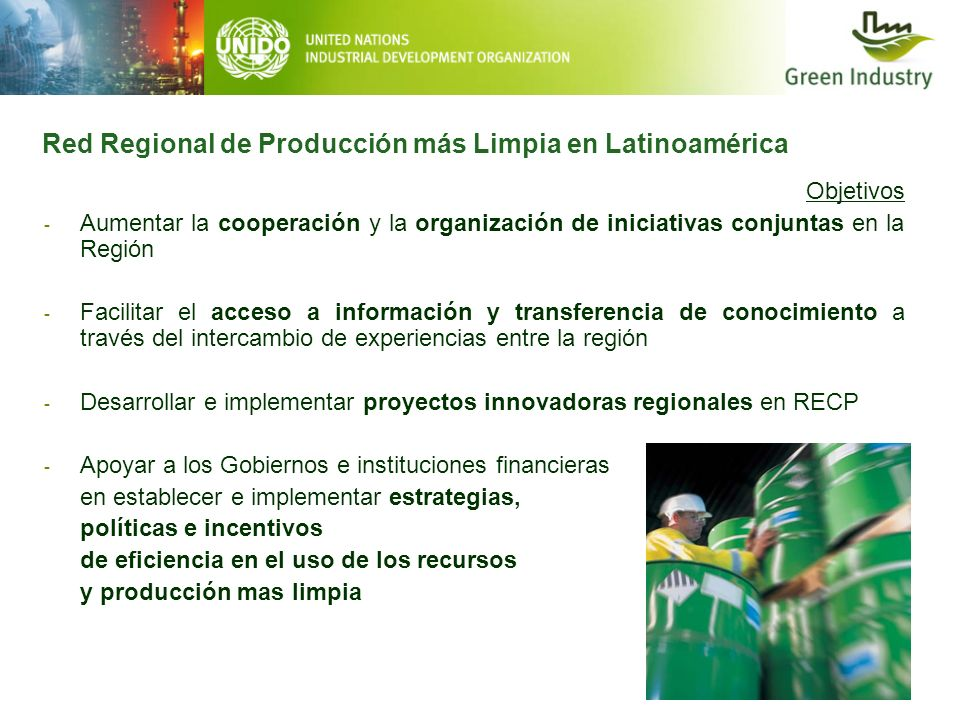 Objetivos - Aumentar la cooperación y la organización de iniciativas conjuntas en la Región - Facilitar el acceso a información y transferencia de con