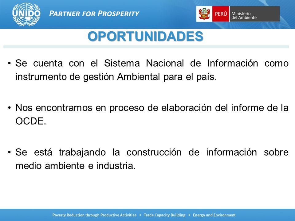 Se cuenta con el Sistema Nacional de Información como instrumento de gestión Ambiental para el país. Nos encontramos en proceso de elaboración del inf