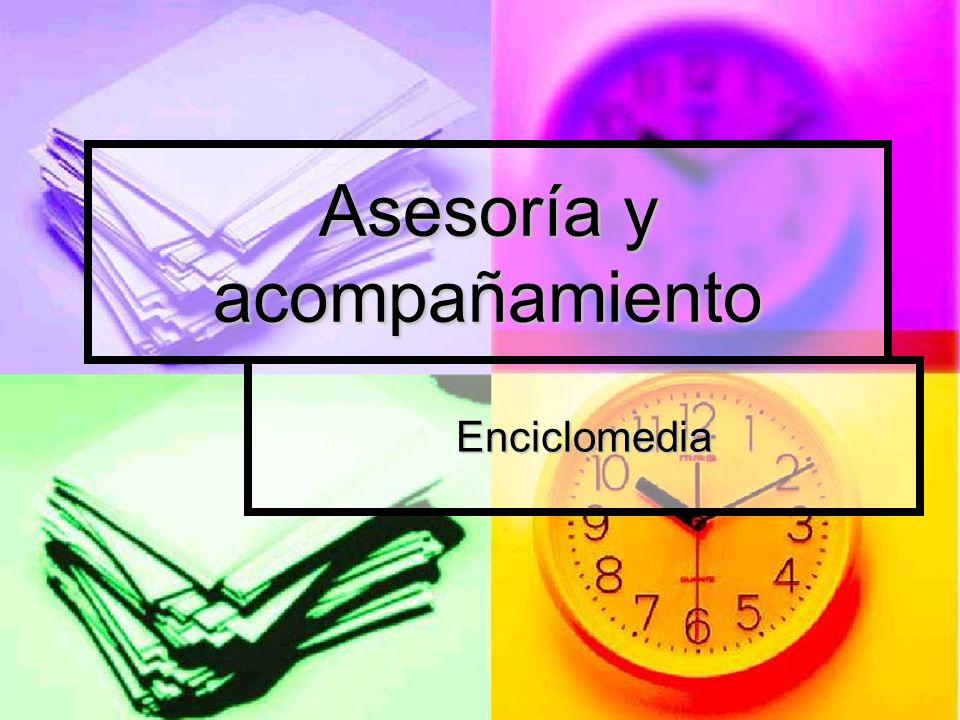 Asesoría y acompañamiento Enciclomedia