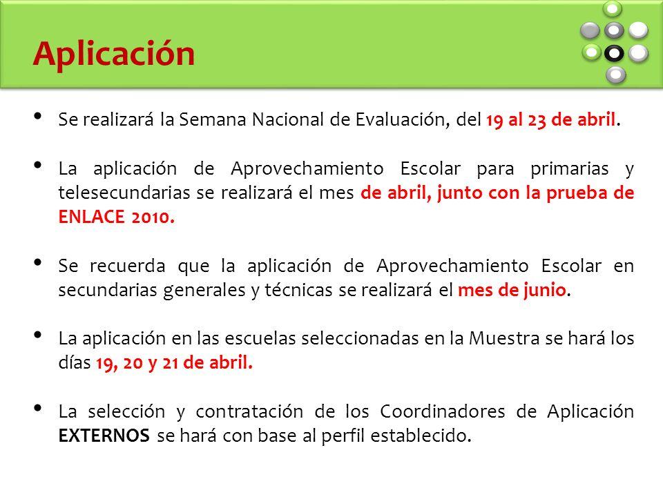 Se realizará la Semana Nacional de Evaluación, del 19 al 23 de abril.