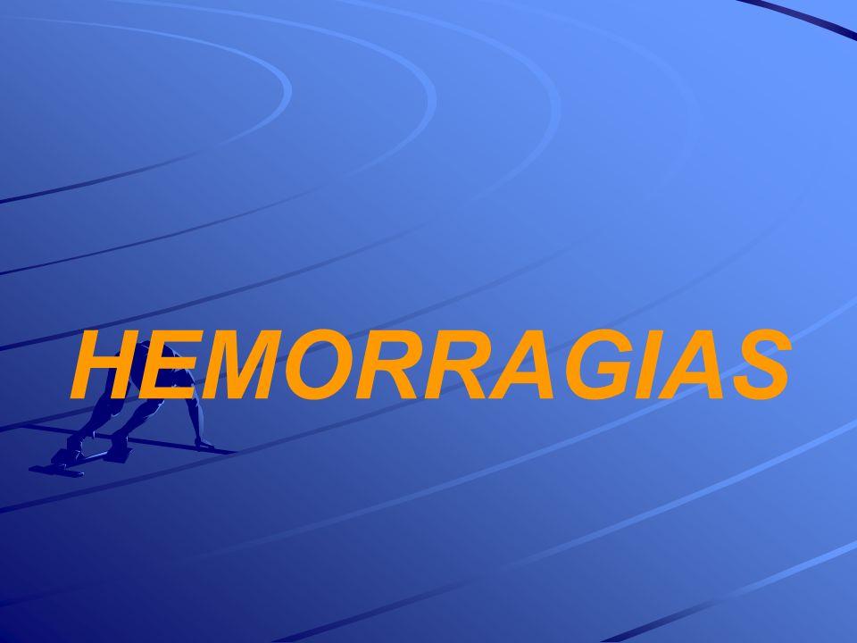 HEMORRAGIAS