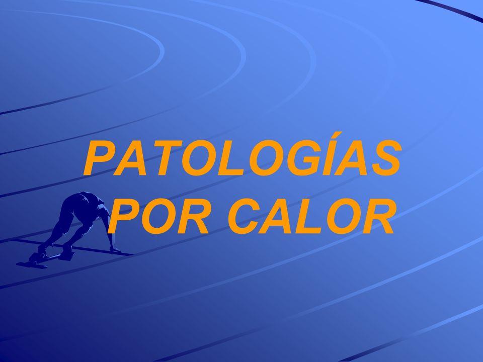 PATOLOGÍAS POR CALOR