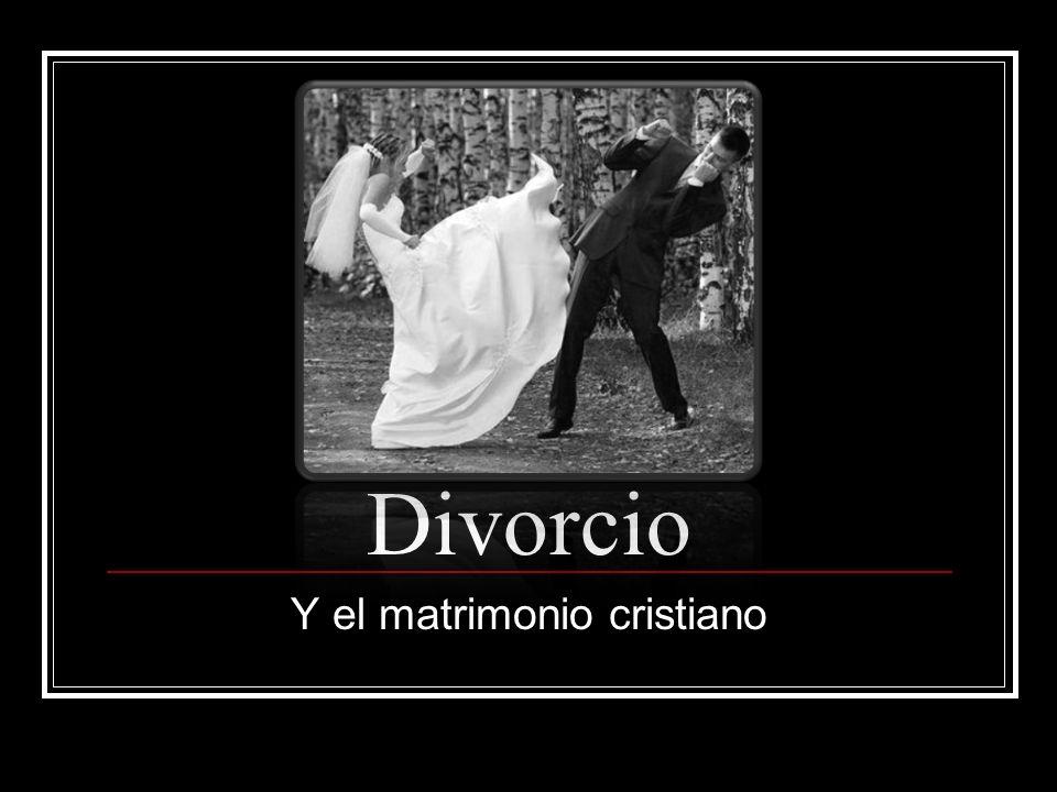 Dos Asuntos Importantes ¿El divorcio es permitido en la Biblia.