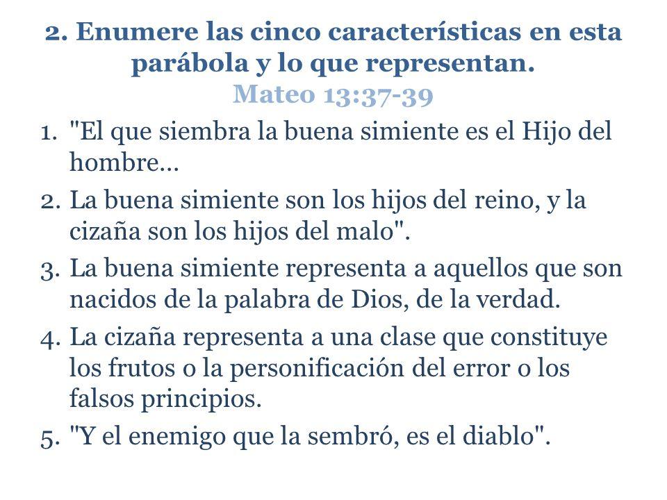 3.¿Cuál es el resultado de un cristianismo falso.