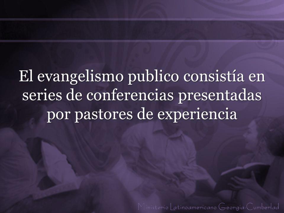 El evangelista va cosechar el trabajo de parto de la iglesia.