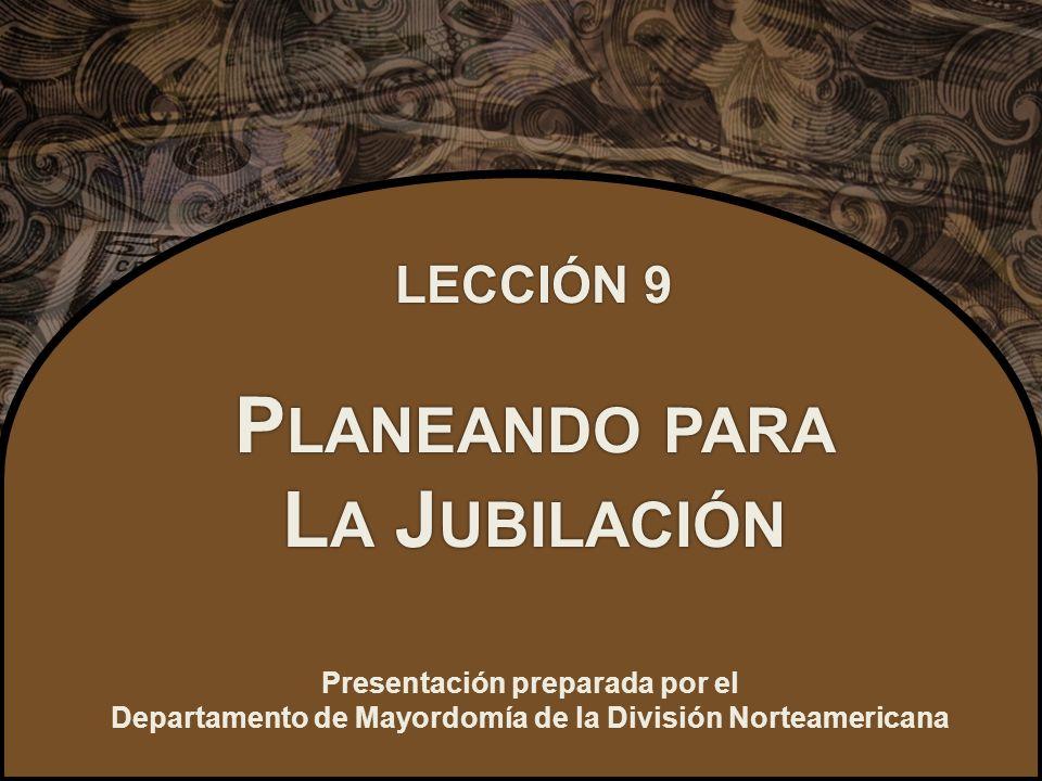 Presentación preparada por el Departamento de Mayordomía de la División Norteamericana