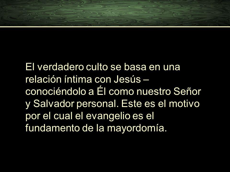 El verdadero culto se basa en una relación íntima con Jesús – conociéndolo a Él como nuestro Señor y Salvador personal. Este es el motivo por el cual