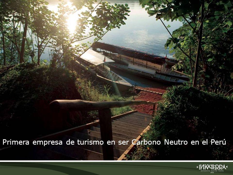 Primera empresa de turismo en ser Carbono Neutro en el Perú