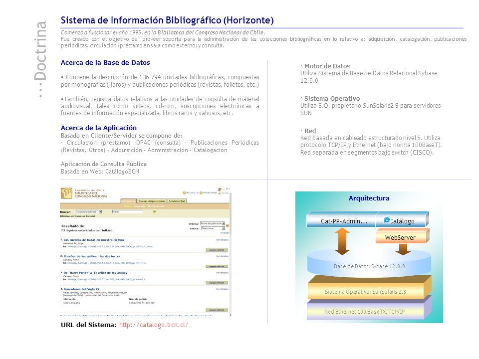Acerca de la Base de Datos Contiene la descripción de 136.794 unidades bibliográficas, compuestas por monografías (libros) y publicaciones periódicas