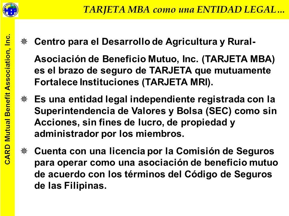 EXPERIENCIA TARJETA MBA ACCESO AL SEGURO PARA LOS POBRES Por: Alexander M.