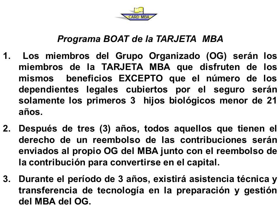 PROGRAMA PARA CONSTRUIR – OPERAR Y TRANSFERIR LA TARJETA MBA ALEX M.