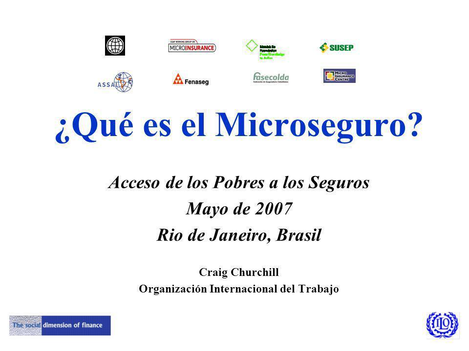 ¿Qué es el Microseguro.