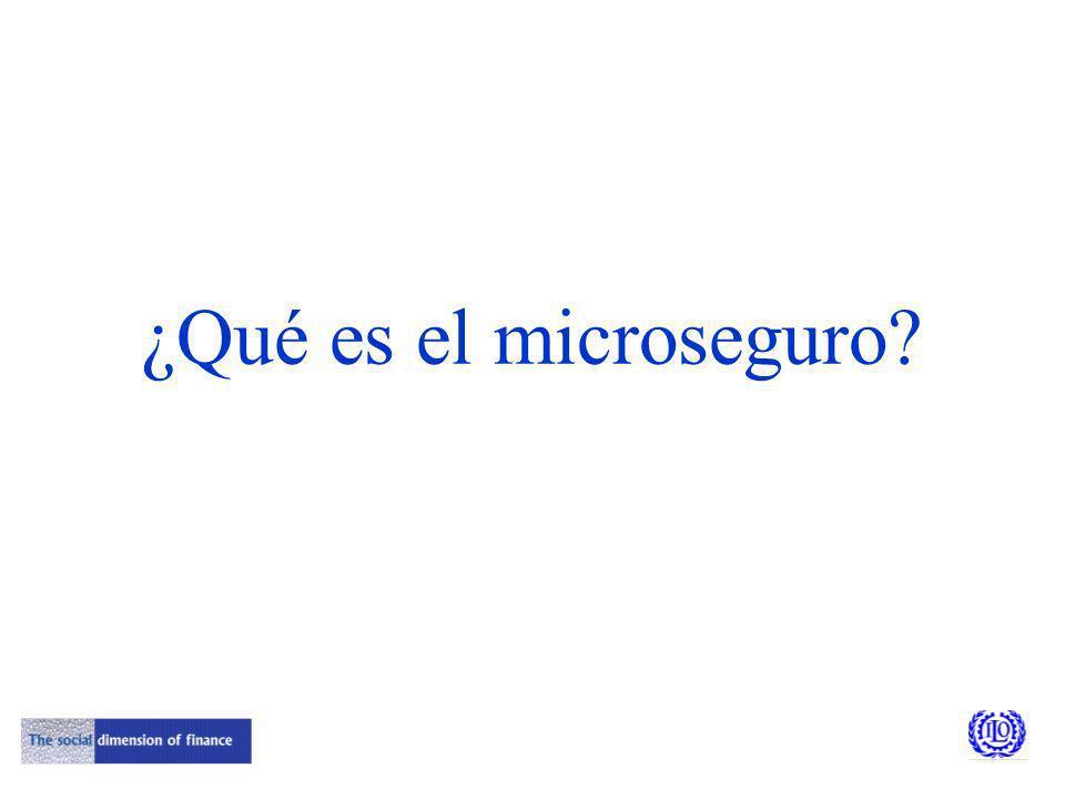 ¿Qué es el microseguro