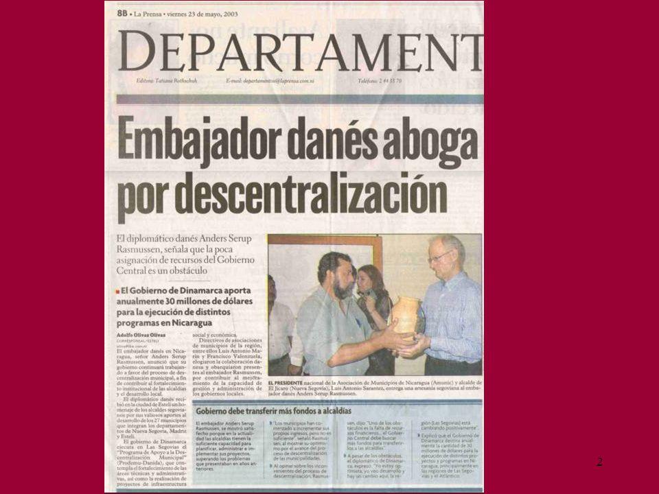 3 CONTENIDO I.POR QUE Y PARA QUE DESCENTRALIZAR. VENTAJAS Y DESVENTAJAS II.
