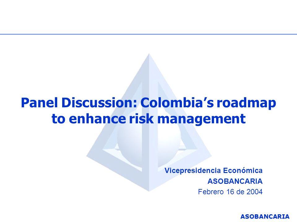 ASOBANCARIA Agenda 1.Antecedentes: de la contabilidad a un enfoque moderno de administración del riesgo.