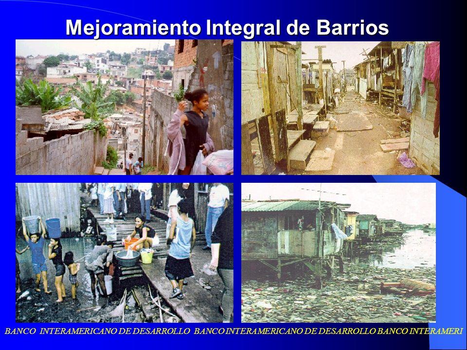 BANCO INTERAMERICANO DE DESARROLLO BANCO INTERAMERICANO DE DESARROLLO BANCO INTERAMERI Costos de inversión por solución (familia o lotes): ejemplos de costos de inversión por unidades adoptados en algunos proyectos del BID País Programa Costo máximo (en US$ de 1998) Argentina PROMEBA 6.500 Bolivia SMB 4.200 Brasil PROAP 4.500 HBB 4.000* PBV 3.600 Chile PMB 3.900 Colombia MVE 2.000 Ecuador PROMIB 2.100** Perú MIDB 2.350** Uruguay PIAI 7.000 Fuente: Cuidades Para Todos.