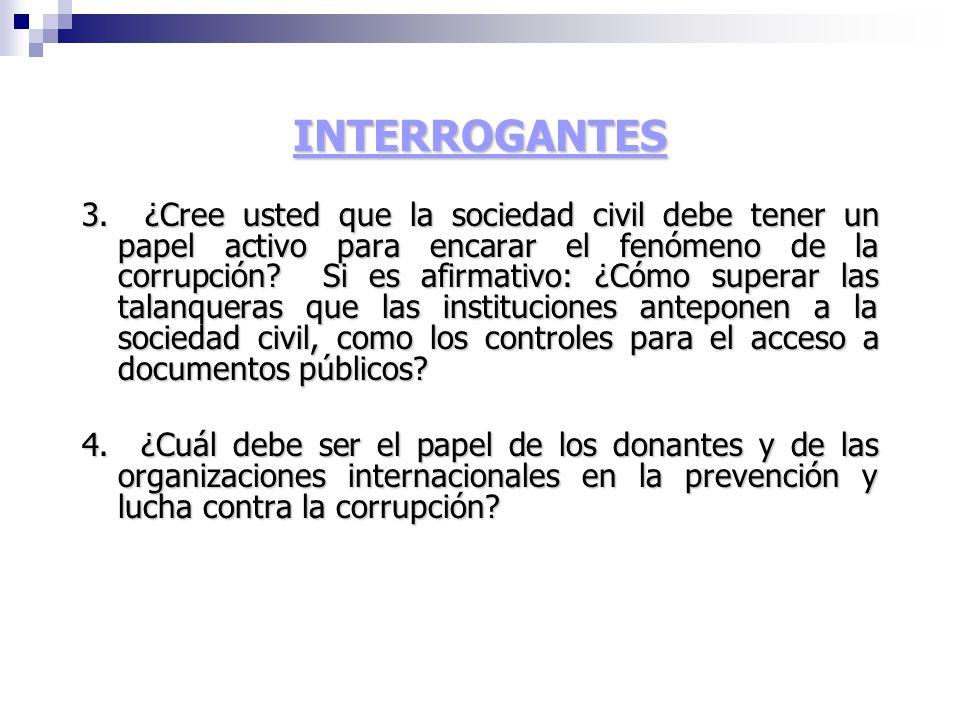 INTERROGANTES 3.