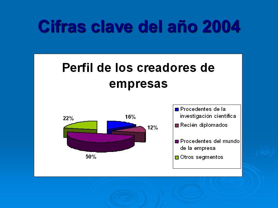 Cifras clave del año 2004