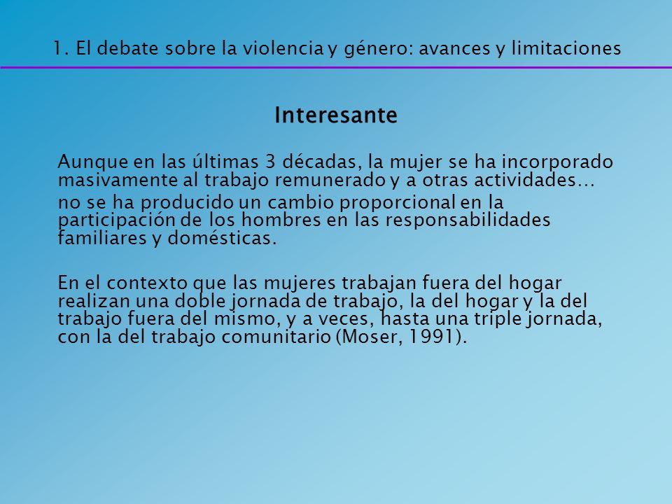 Elementos básicos de consenso del concepto feminización de la pobreza: 1) Un predominio de las mujeres entre los pobres.