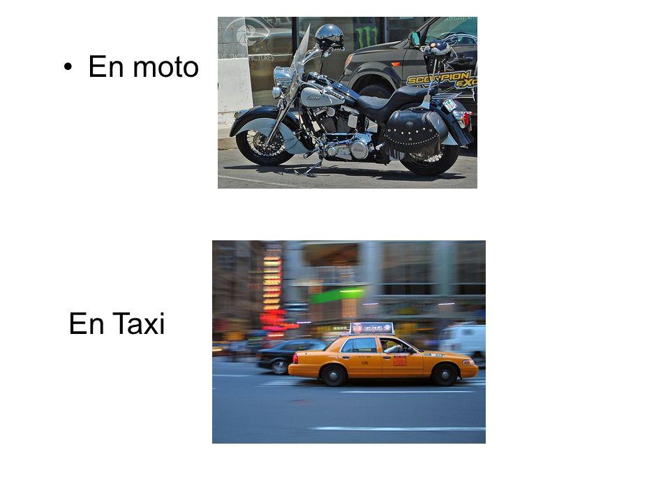 En moto En Taxi