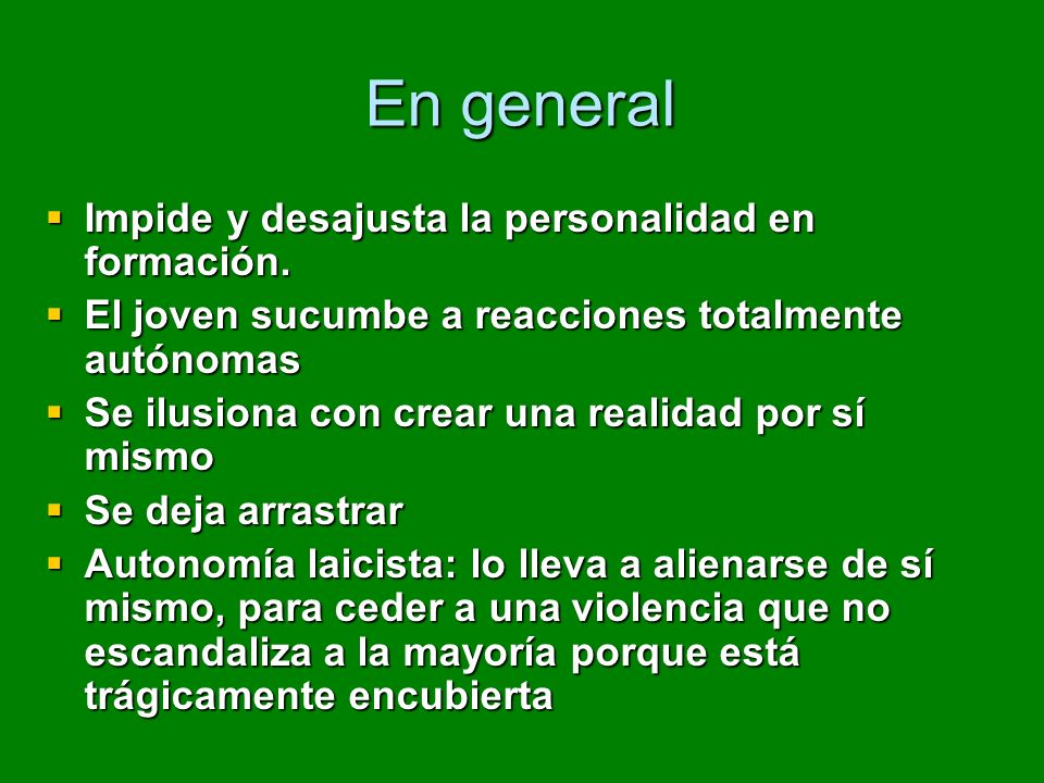 RESULTADO FINAL: INDIFERENCIA Y DESAMOR INDIFERENCIA Y DESAMOR AUSENCIA DE COMPROMISO CON LA REALIDAD.