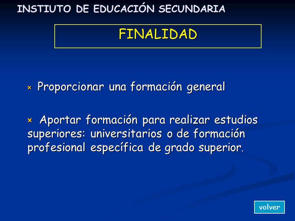 INSTIUTO DE EDUCACIÓN SECUNDARIA × T× T× T× Título de Graduado en Educación Secundaria × T ítulo de Técnico (CFGM) volverACCESO