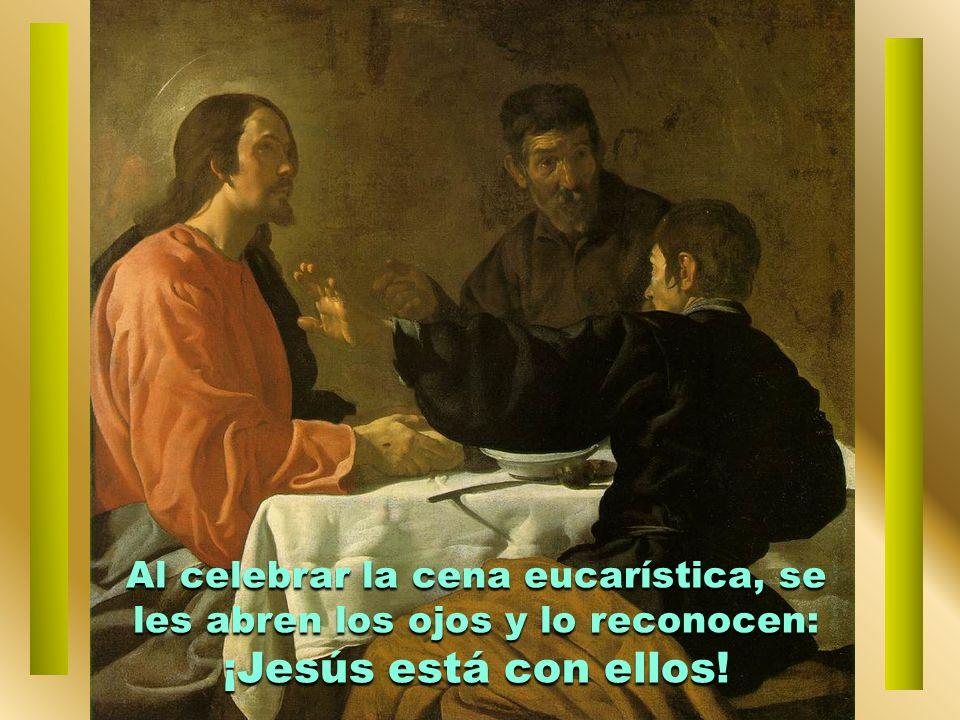 Los discípulos le hablan de sus expectativas y decepciones; Jesús les ayuda a ahondar en la identidad del Mesías crucificado. El corazón de los discíp