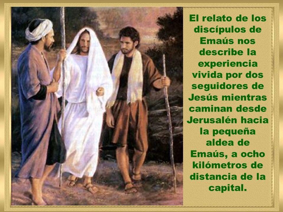 8 de mayo de 2011 3 Pascua (A) Lucas 24, 13-35 Red evangelizadora BUENAS NOTICIAS Anuncia a Jesús. Pásalo. José Antonio Pagola Música:JesúsAlegriadosH