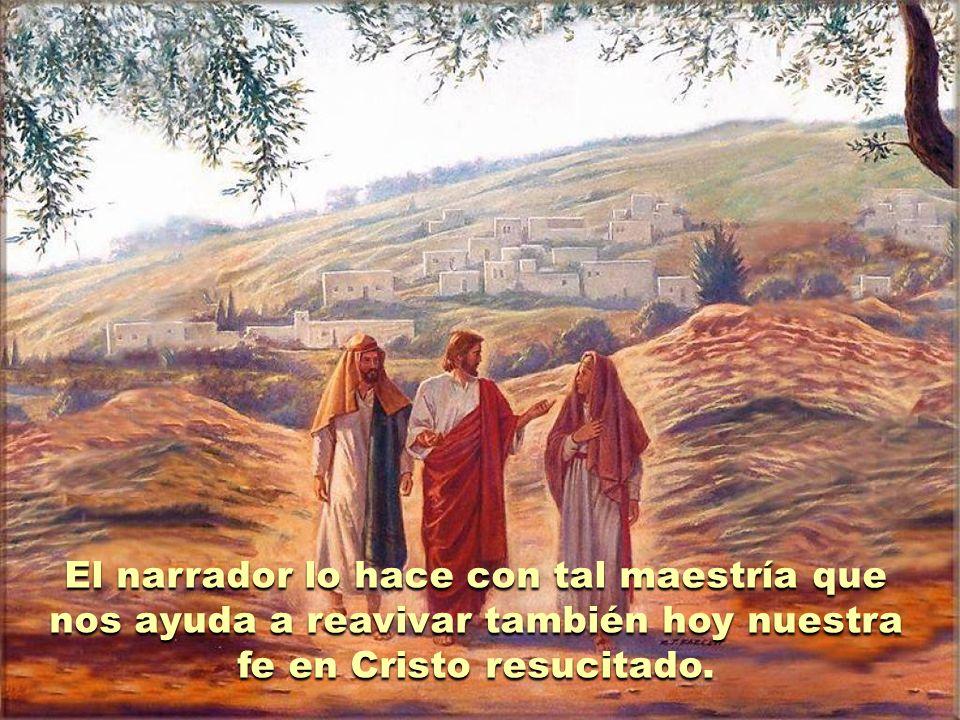 El relato de los discípulos de Emaús nos describe la experiencia vivida por dos seguidores de Jesús mientras caminan desde Jerusalén hacia la pequeña