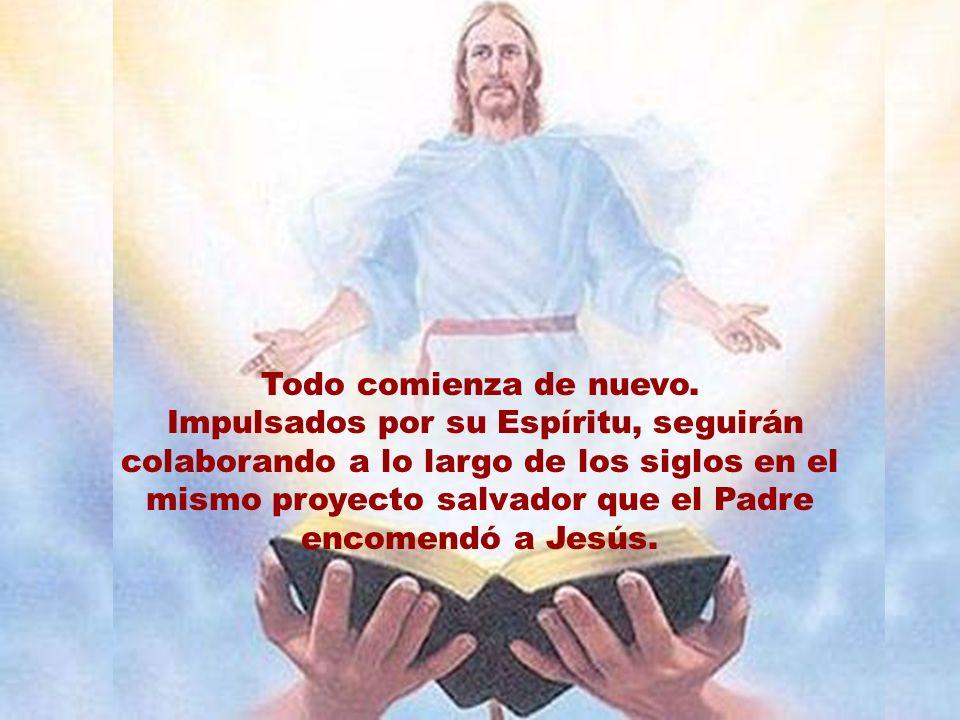 Según el relato, lo primero que infunde Jesús a su comunidad es su paz.