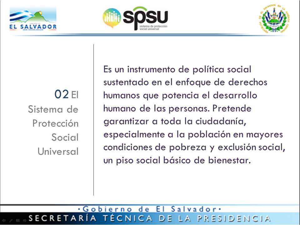 Es un instrumento de política social sustentado en el enfoque de derechos humanos que potencia el desarrollo humano de las personas.