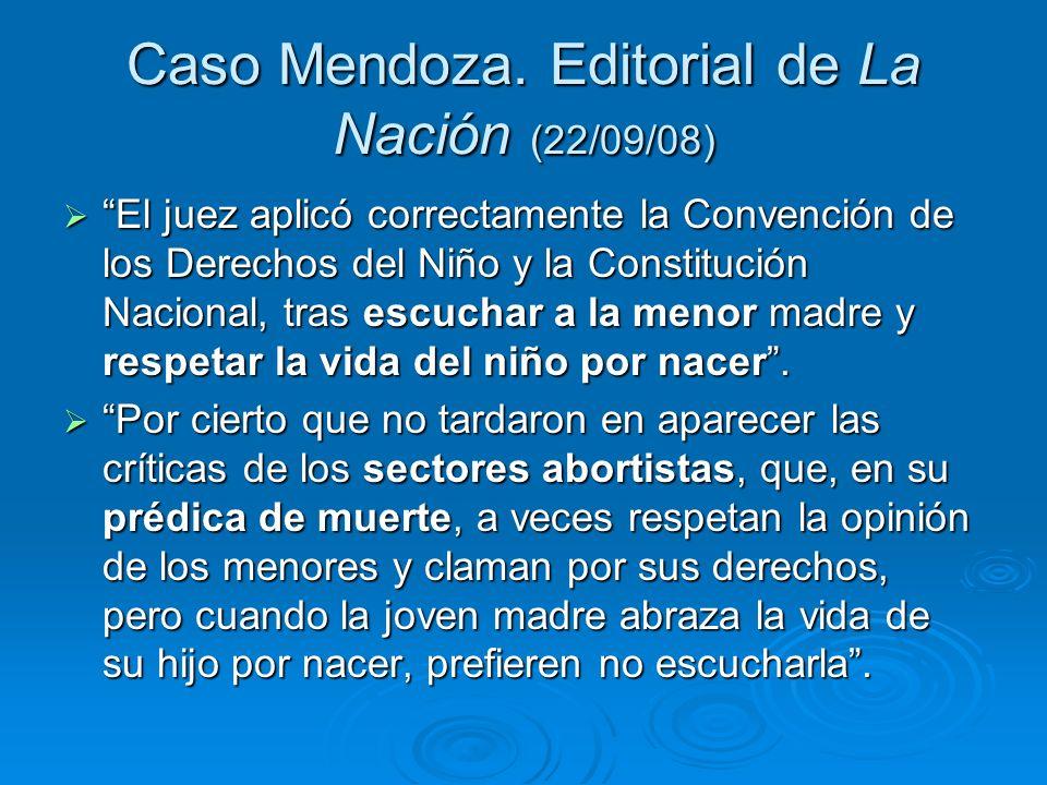 Caso Mendoza.