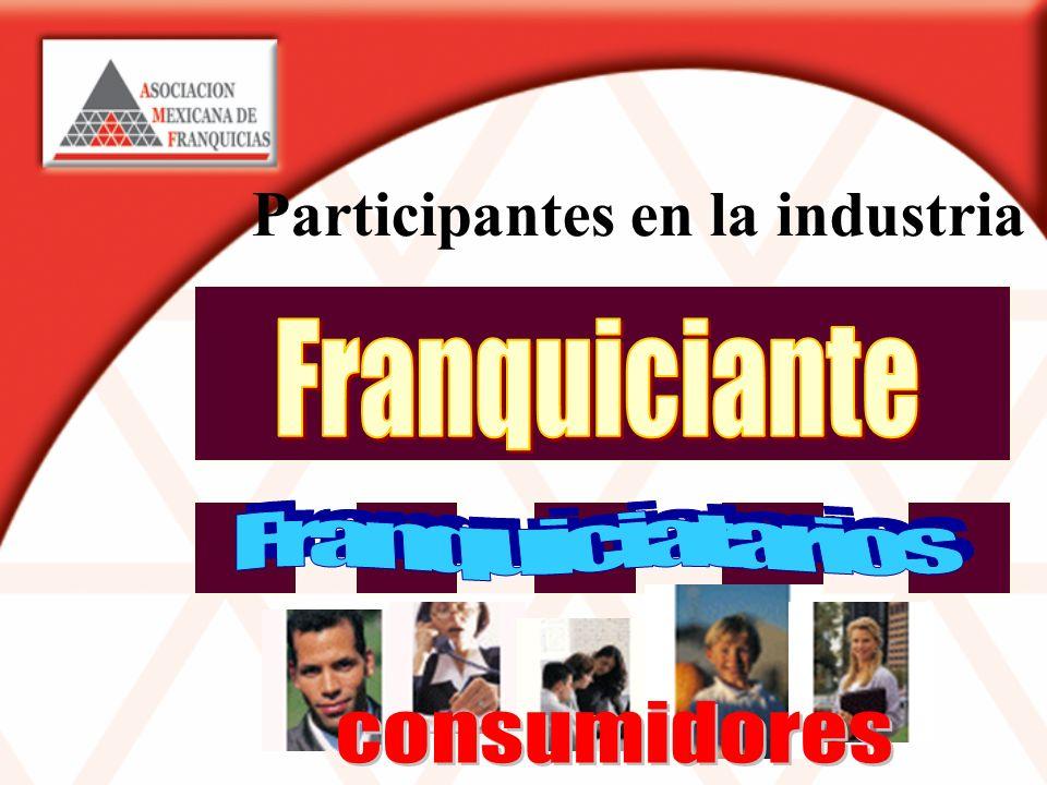 Participantes en la industria