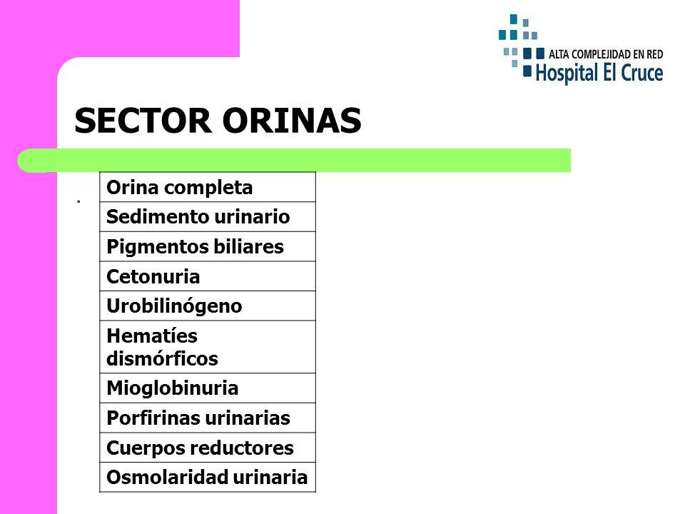 SECTOR ORINAS.
