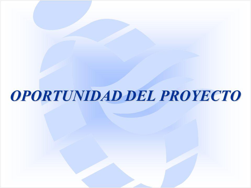 OPORTUNIDAD DEL PROYECTO