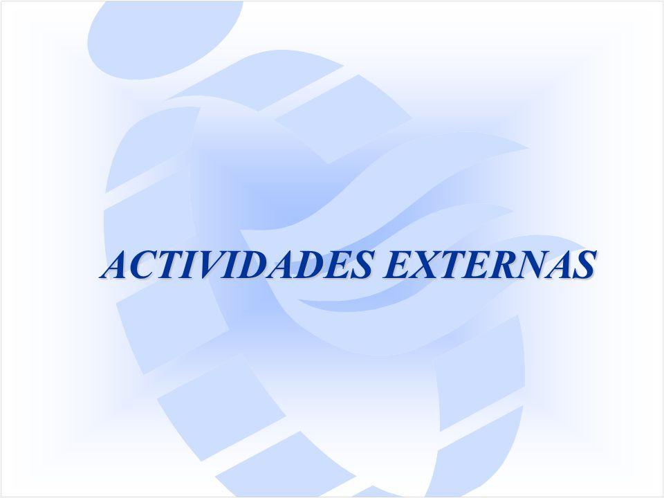 ACTIVIDADES EXTERNAS