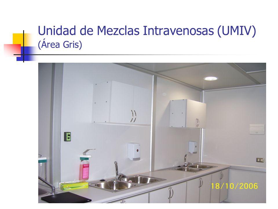 Unidad de Mezclas Intravenosas (UMIV) (Área Gris)