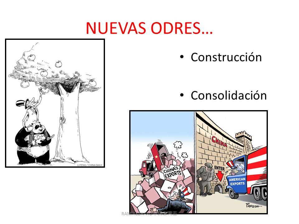 NUEVAS ODRES… Construcción Consolidación RAMÍREZHARO