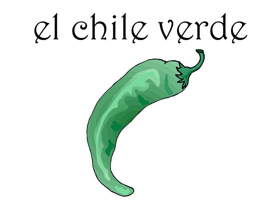 el chile verde