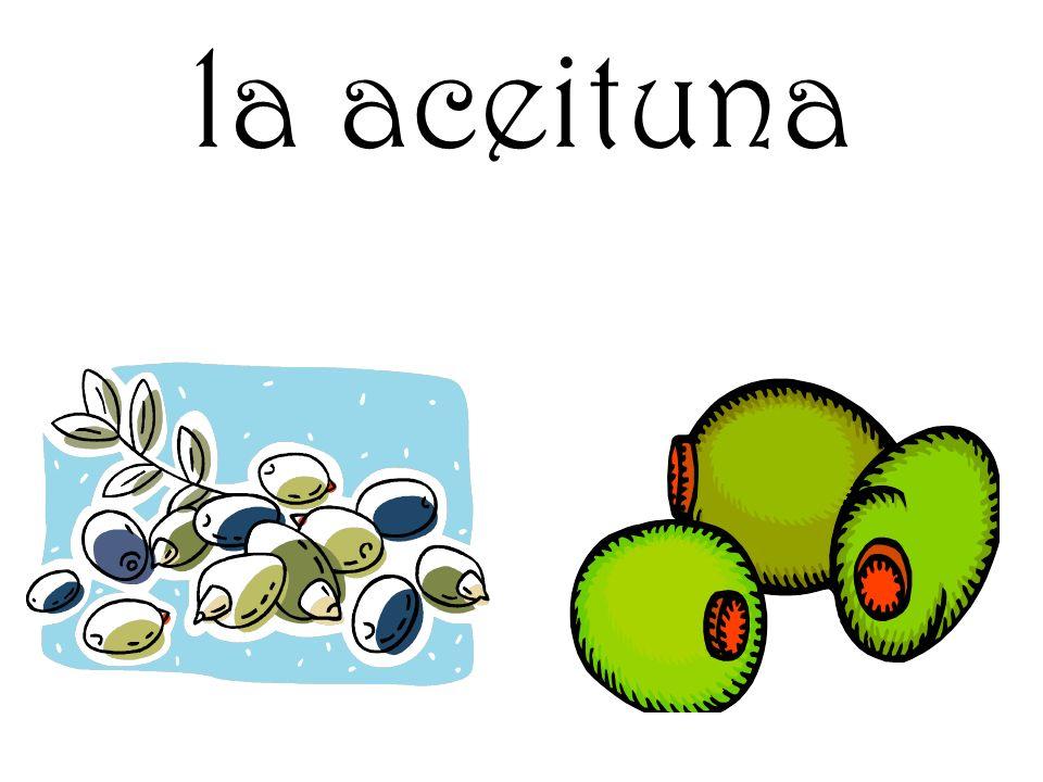 la aceituna
