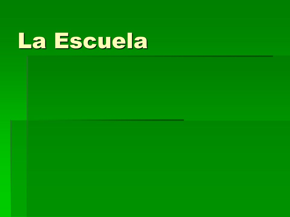 What do you notice about this Spanish students schedule.