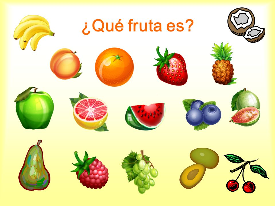¿Te gusta comer….Using the model magic play dough, sculpt a learned fruit of choice.