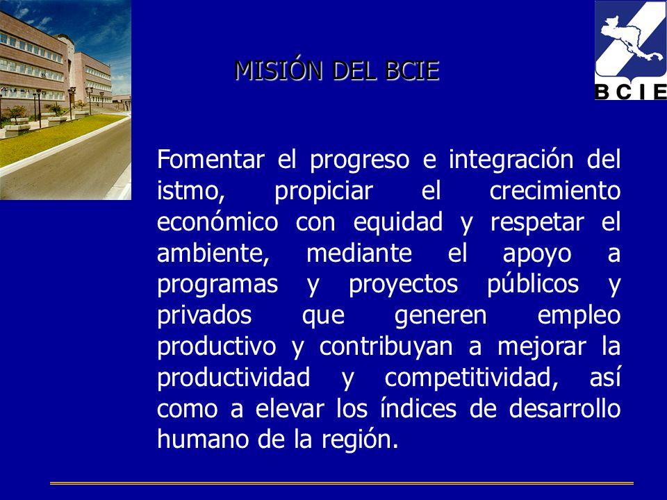 Fomentar el progreso e integración del istmo, propiciar el crecimiento económico con equidad y respetar el ambiente, mediante el apoyo a programas y p