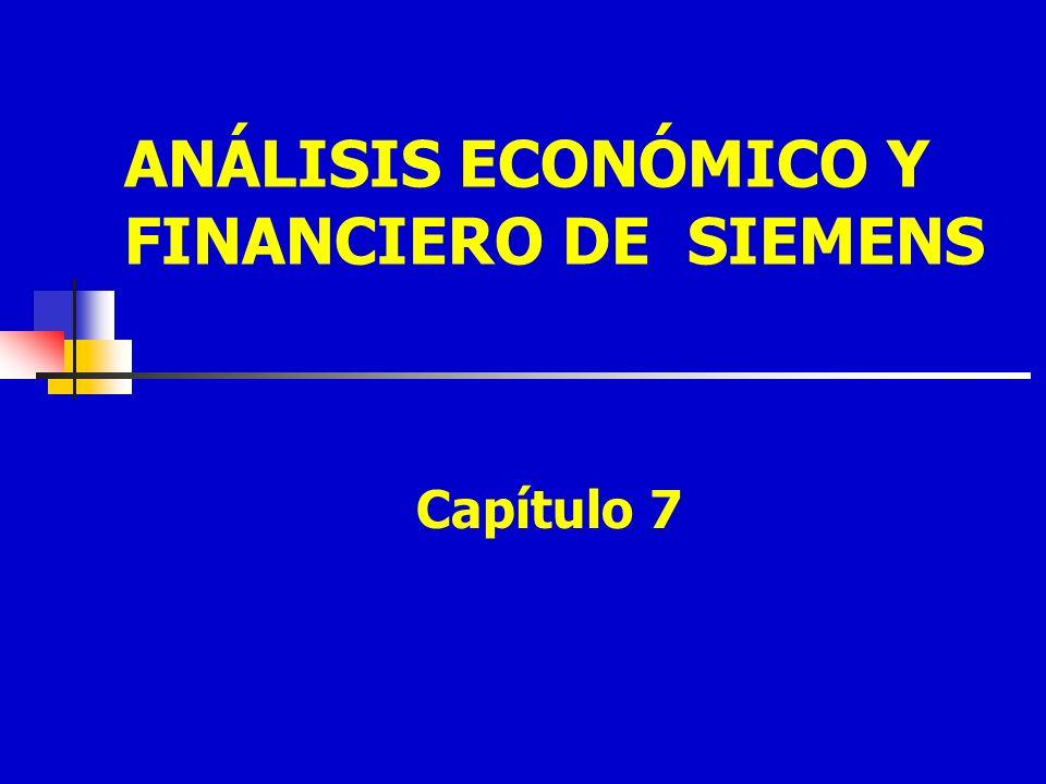 ANÁLISIS ECONÓMICO Y FINANCIERO DE SIEMENS Capítulo 7