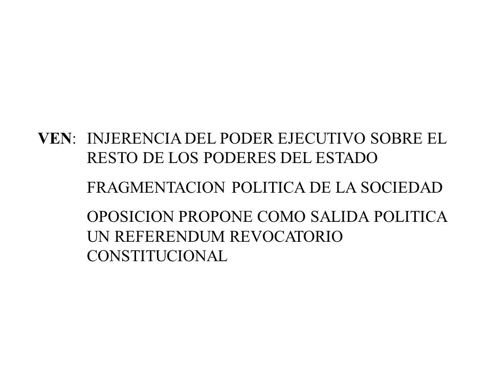 MEX: 1994 APERTURA ECONOMICA Y FIRMA EL TLC FLEXIBILIDAD LABORAL 1995 EFECTO TEQUILA DEVALUACION, CAIDA DEL SALARIO, AUMENTO DE POBREZA, MAYOR DESEMPLEO INCREMENTO DEL PIB HASTA 2000 ACTUALMENTE: CAIDA DEL PODER ADQUISITIVO DEL SALARIO REAL CRECIMIENTO DEL PIB 3 % BAJA INFLACION
