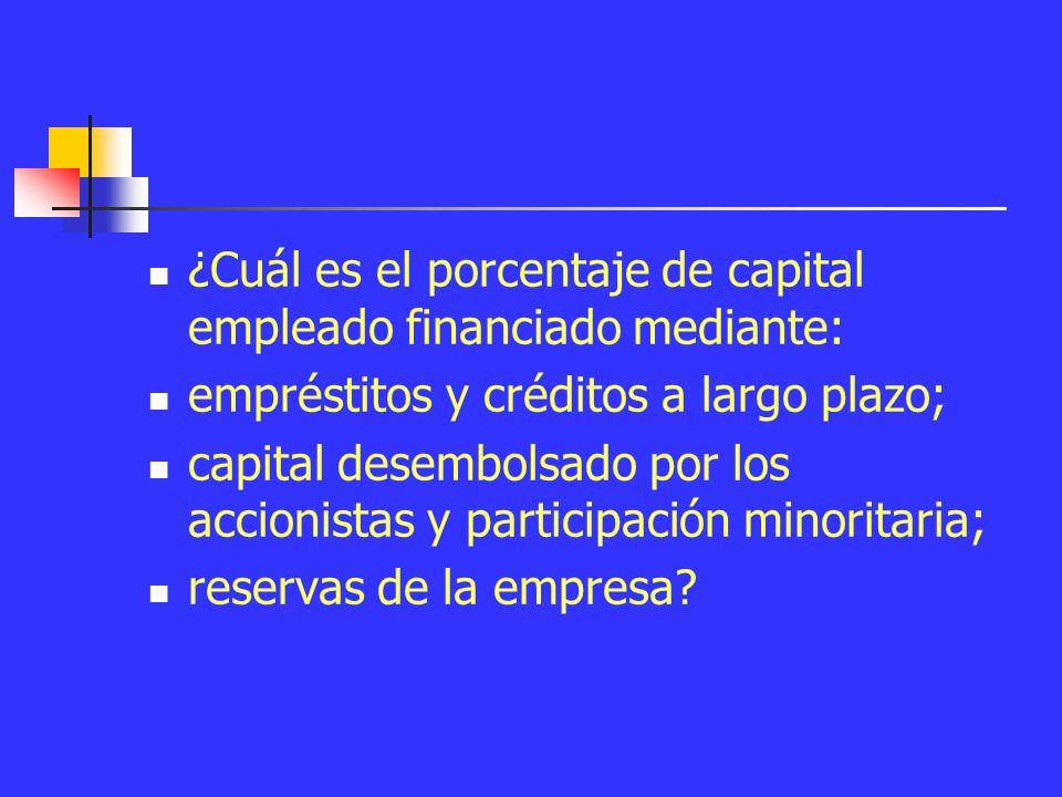 Ejercicio 2 A partir del balance de las cuentas anuales, identifique: ¿Qué parte del activo de la empresa ha sido empleado en: capital fijo (fábricas, máquinas, etc.); activo circulante (existencias, caja, etc.).