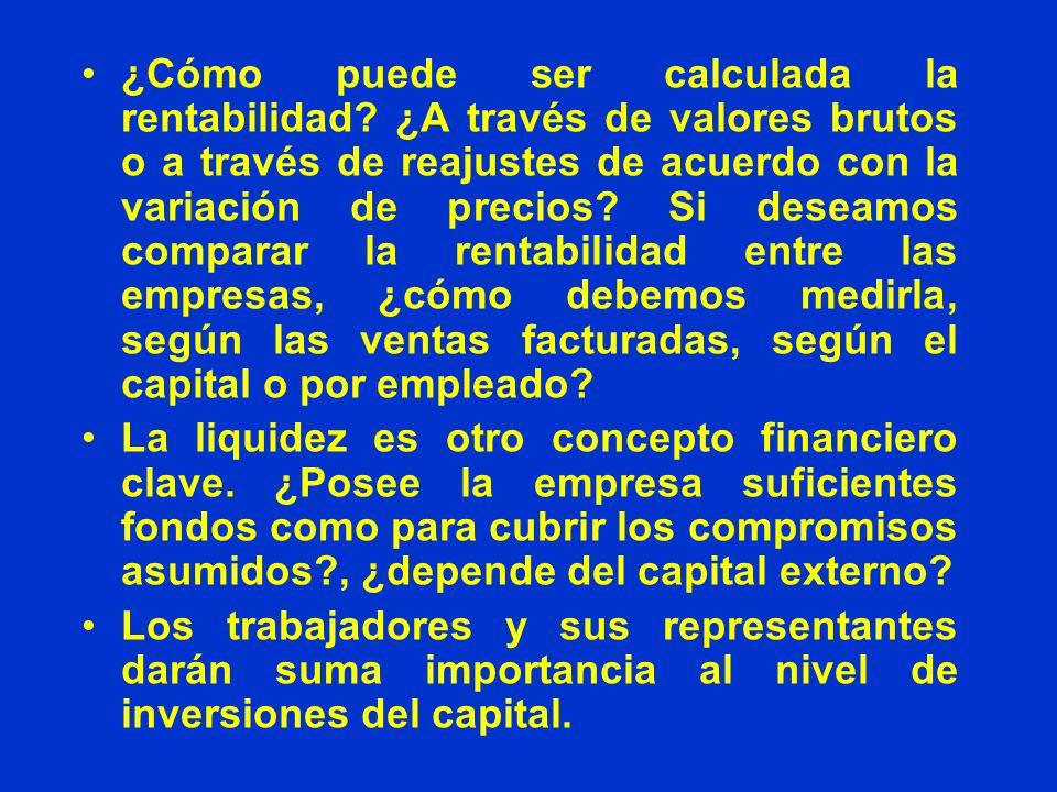 5.1 Definición de utilidad La definición acerca de lo que constituye la utilidad cambia según la compañía y/o el país.