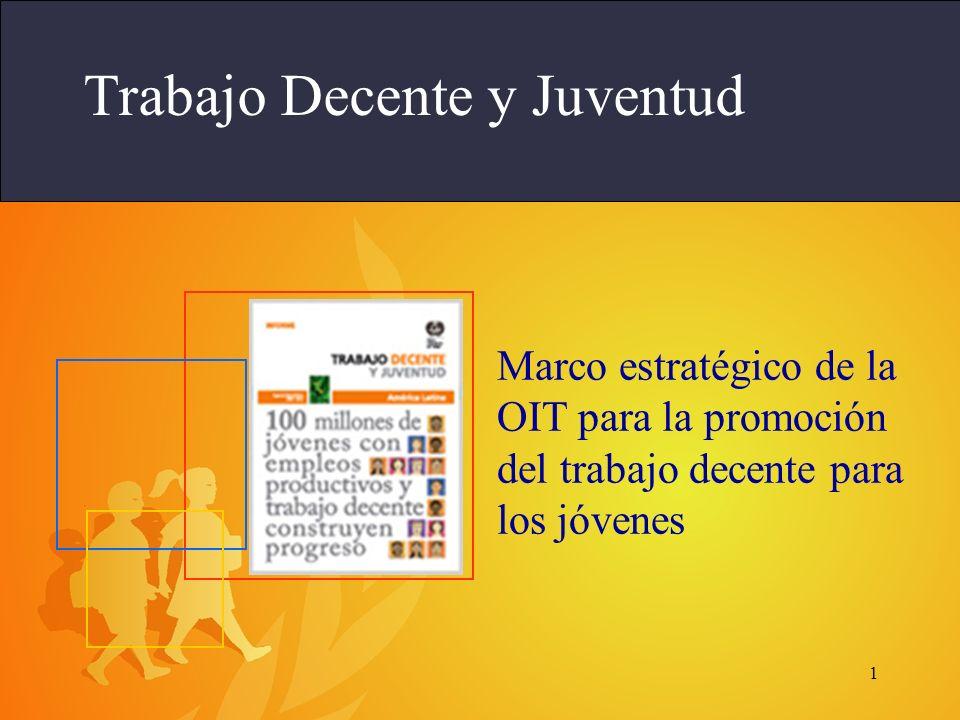 1 Trabajo Decente y Juventud Marco estratégico de la OIT para la promoción del trabajo decente para los jóvenes