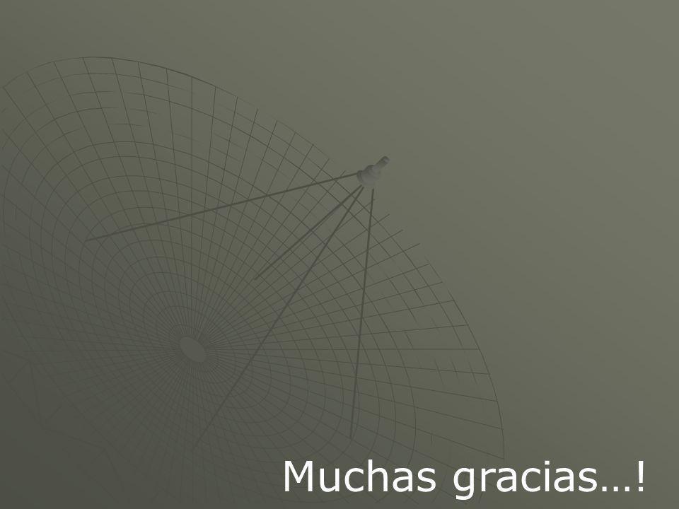 Muchas gracias…!