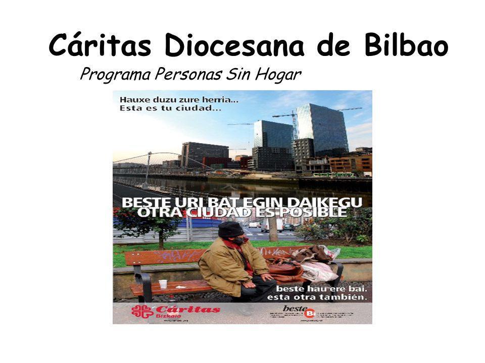 Cáritas Diocesana de Bilbao Programa Personas Sin Hogar
